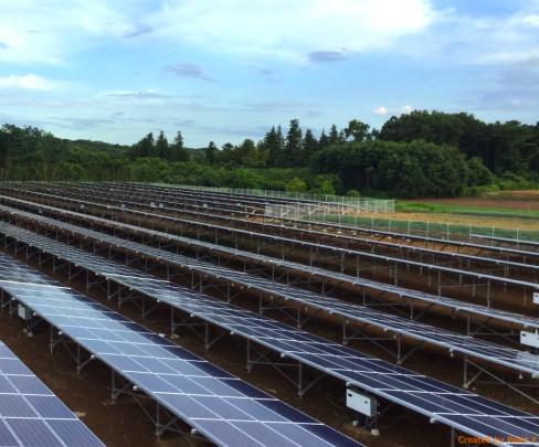 埼玉県熊谷市太陽光発電施設